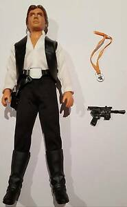 """Vintage Star Wars Han Solo 12"""" 1977- Complete Excellent Condition Yokine Stirling Area Preview"""