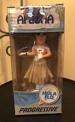 New Sealed In Box Progressive Insurance Hula Flo Doll Aloha