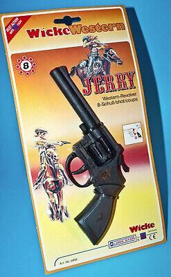 ☆ LONE STAR WICKE 8 SHOT PISTOLE REVOLVER  ☆ JERRY WESTERN TOY CAP GUN 1990s