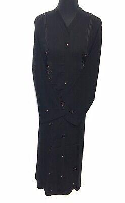 Dubai Abaya Style Kaftan Farasha  Maxi Dress Abaya jalabiya jibab