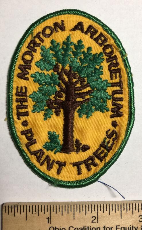 Vintage The Morton Arboretum Plant Trees Patch Travel Souvenir Lisle Illinois