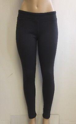 Cotton Spandex Knit Pants - Women's Cotton Spandex Ribbed Casual Knit Pants S-M-L-XL Color Charcoal Heather