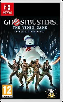 Ghostbusters: The Video Game - Remastered (Nintendo Switch, 2019) Brand New