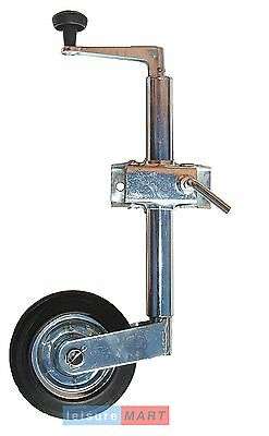 Trailer Caravan Jockey Wheel & Clamp 34mm with steel wheel