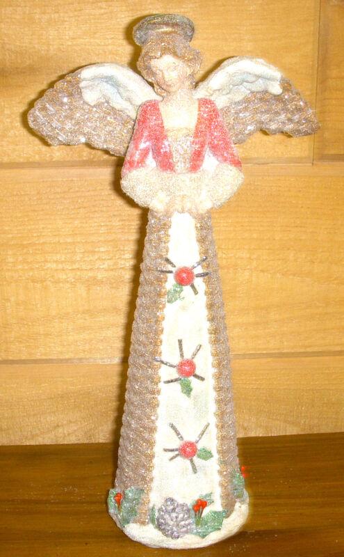 Woodland Angel Praying Resin Christmas Holiday Home Decor 11