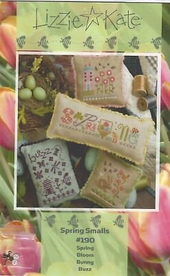 Lizzie Kate Spring (Lizzie Kate Spring Smalls 4 Charts Bunniy Bees Flowers + Buttons & Charm )