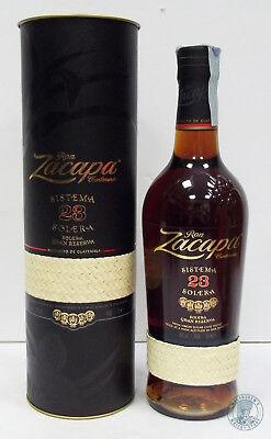 Rum/Ron ZACAPA Centenario Sistema 23 Solera Gran Reserva con Tubo