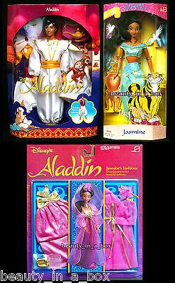 "Jasmine Aladdin Doll Disney Classics My Favorite Fairytale Jasmine's Fashions """