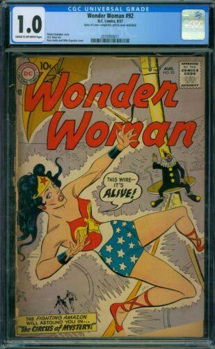 Wonder Woman 92 CGC 1.0