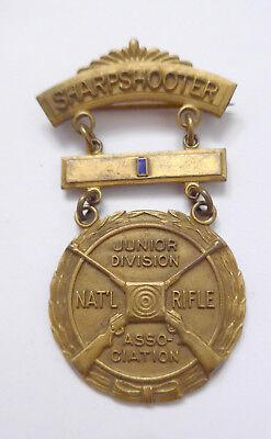 USA Abzeichen der NRA --Sharpshooter Junior Division Medal Badge--