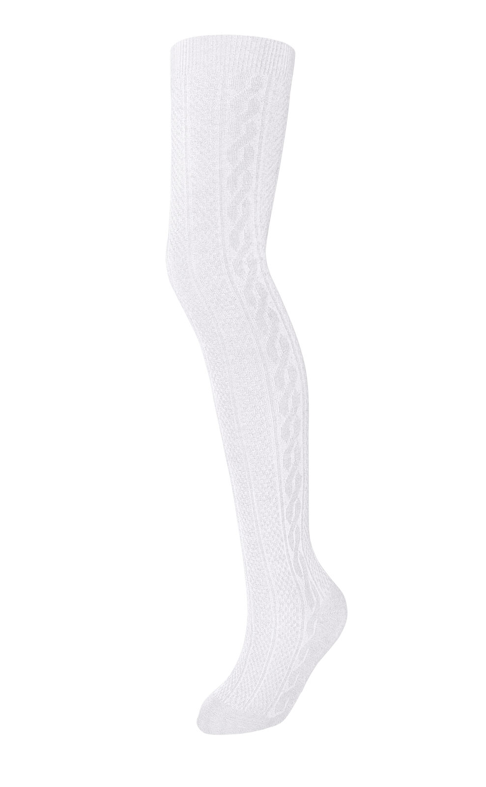 Girls Tights for Children & Teens, Cable Knit Warm Tights,Pe
