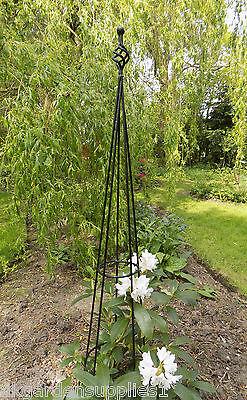 Finial Metal Obelisk - Climbing Plant Garden Support - Plant Support