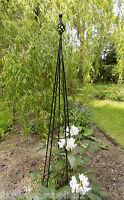 Finial Metal Obelisk - Climbing Plant Garden Support - Plant Support - ruddings wood - ebay.co.uk