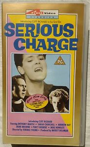 VHS Cliff Richard in &quot;Serious Charge&quot; - <span itemprop='availableAtOrFrom'>Wien, Österreich</span> - VHS Cliff Richard in &quot;Serious Charge&quot; - Wien, Österreich