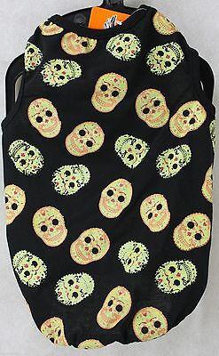 Halloween Bret Michaels Pets Rocks Black Sugar Skulls Dog Shirt Size Medium NWT (Bret Michaels Pets Rock Halloween)