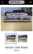 Datsun 1200 New Genuine Badge  Caboolture Caboolture Area Preview
