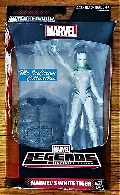Marvel Legends Rhino Series Angela Del Toro White Tiger