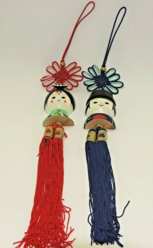CHINESE DOLLS WITH TASSEL GOODLUCK GIFT WALL HANGING DECORATIONS