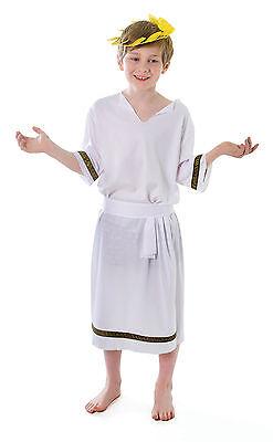 Greek Boy Costume For Fancy Dress 2 Sizes (Greek Dress For Boys)