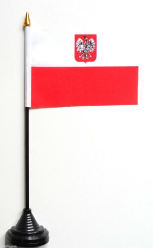 Poland Eagle Polyester Table Desk Flag