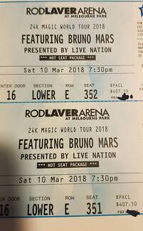 Bruno Mars Hot Seat Package [3X Tickets]