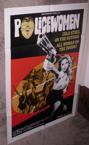 POLICEWOMEN original 1974 27x41 one sheet movie poster SONDRA CURRIE