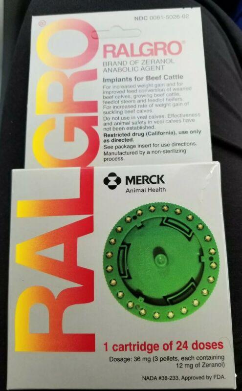 Merck Ralgro Implants for Calves Weight Gain Feed Efficiency