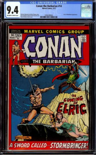 Conan the Barbarian #14...CGC 9.4 NM...First appearance of Elric