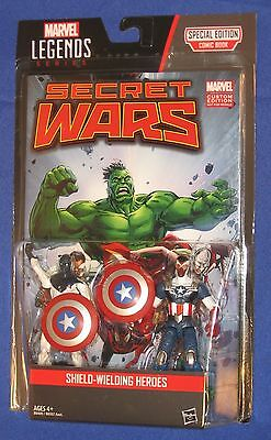 "Marvel Vance Astro & Captain America 4"" Action Figure 2-pack 2015 Hasbro MOC"