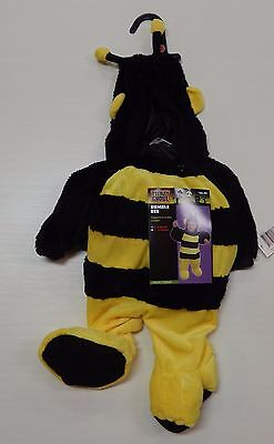 Totally Ghoul Bumble Bee Halloween Costume 0-6 Months NEW Baby Child Infant - Kids Ghoul Costume