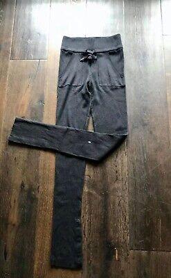 NWT Lululemon Comfort Zone Lounge Pant 2 Blk Cashmere Blend Sweats/Joggers $128