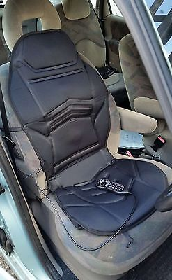 12V MASSAGING HEATED BACK  SEAT CUSHION BLANKET CHOICE FOR ALL PEUGEOT