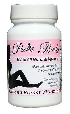 (PureBody Vitamins - The #1 Butt and Breast Growth Pills)