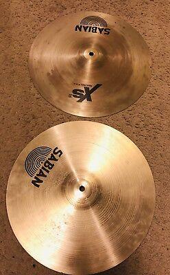 """Sabian Xs20 Medium 14"""" Hi-Hat Cymbal, used for sale  San Diego"""