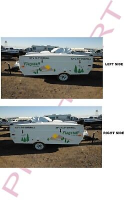 flagstaff Pop up decal kits camper decals graphics sticker forest river popup RV