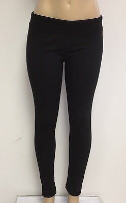 Cotton Spandex Knit Pants - Ladies Cotton Spandex Rib Knit Legging Pant Sizes S-M-L-XL Color Black NWT