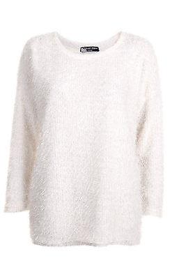 A crisp, white jumper is perfect for the festive season