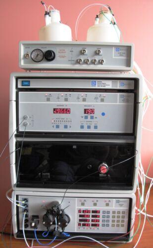 Dionex 15241 HPLC System Gradient Pump, Wavelength Detector, Eluant Degas, LCM-3