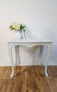 Elegant Rustic Chic Side Table