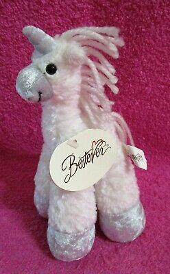 Bestever Funny Feet White Silver Unicorn Plush 8