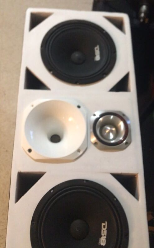 """Chuchero Box 8"""" Speakers"""