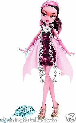 Monster High Haunted Getting Ghostly Draculaura Doll Girls Party Toy Gift NEW