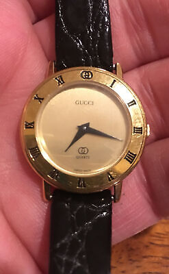 Vintage Gucci 3001 L Ladies Watch. Looks Great! New Battery!