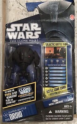 Star Wars Clone Wars Super Battle Droid Action Figure