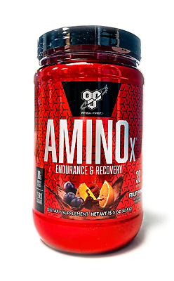 BSN AMINO X Recovery BCAA AMINOx Acid 30 Servings - All Flav
