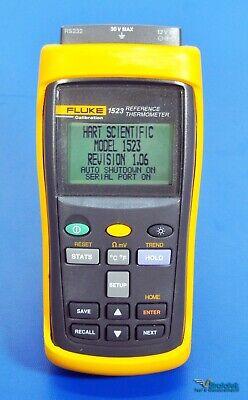 Fluke Hart Scientific 1523-156 Calibration Reference Thermometer No Probe