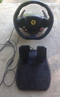 Thrustmaster Ferrari 458 RW Racing Wheel & Pedals for Xbox One (v.1)