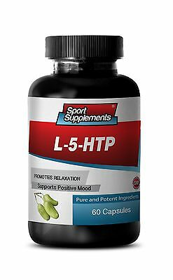 5 Htp Vitamin B (Vitamin C - L-5-HTP 377mg - Natural Help For Sleep Problems PIlls 1B)