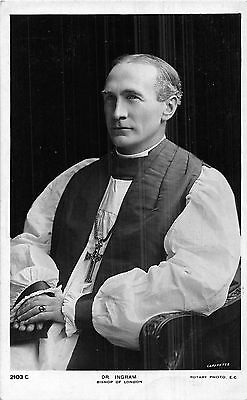 POSTCARD  RELIGION    Dr  Ingram   Bishop of  London