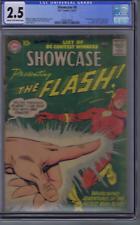 Showcase #8 DC Pub 1957 CGC 2.5 (GOOD +) 2nd app. S.A.Flash ,